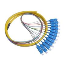 Sc / LC / FC / St Sm, coleta de fibra óptica mm 0.9 mm / 2.0 mm / 3.0 mm