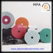 Almohadilla de pulido Diamond Stone para piedra de granito de mármol