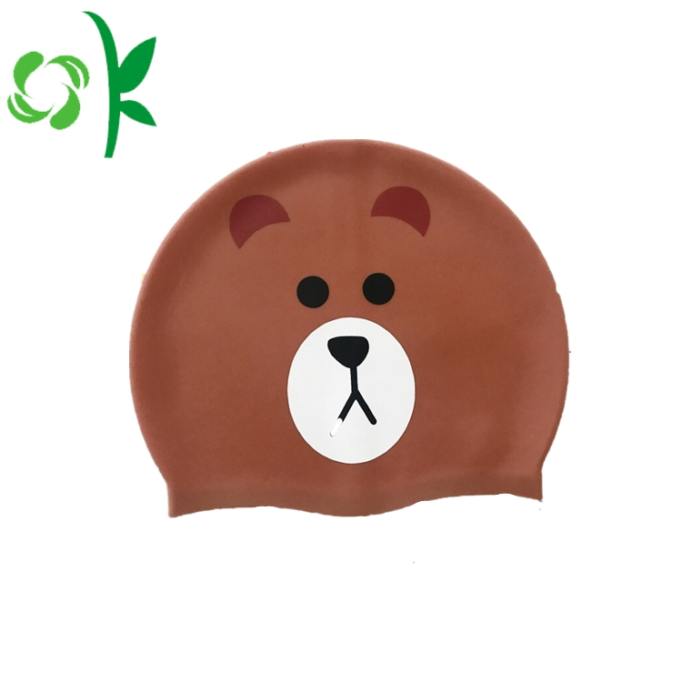 Silicone Swim Cap Cartoon