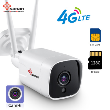 Telecamera Bullet Wireless 1080P 4G LTE Camera