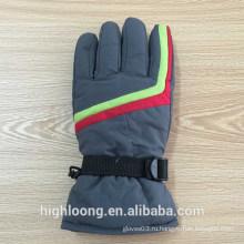 Синий человек теплые лыжные перчатки