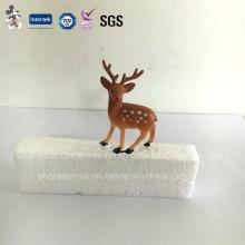 Neue personalisierte professionelle Produzieren Kunststoff Wurf Deer Weihnachtskuchen Dekorationen