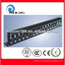 """Hochwertige 19 """"Single Ended 1U Space Cable Management Panel"""