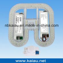 Sensor de microondas Luz de emergência 2D LED