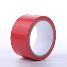 High Density Waterproof Heavy Duty Strong Gaffer Red Cloth Duct Tape For Fixation