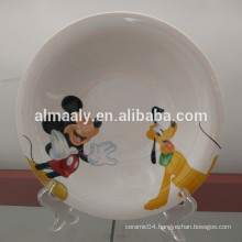 China exporter for porcelain omega plate, deep plate