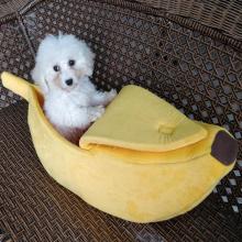 Креативный наполнитель для кошачьего туалета в форме банана, зима теплая