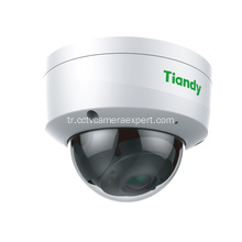 2MP Starlight Vandalproof Mini IR Dome Kamera 2.8mmTC-C32KS