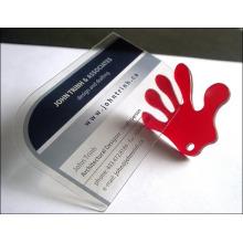 Clear / Transparente Kunststoff Visitenkarte Factory Billig