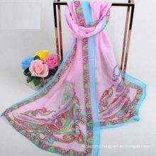 Factory directly sell popular printing scarf indian ladies cape shawls