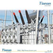 Öl-Eingetauchter elektrischer Leistungstransformator 5 mva Leistungstransformator