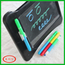 Multi-funciton Double tips with double colors LED board highlighter
