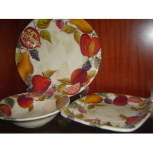 Ceramic Hand Painting Plate Set
