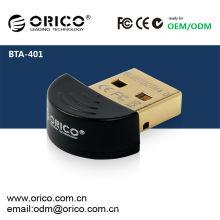 ORICO BTA-401 Adaptador Bluetooth USB CSR8510 Chip - Versão 4.0 (versão Bluetooth mais nova disponível), adaptador USB de baixa energia