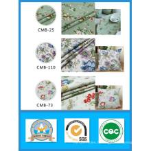 Hing Qualité 100% Coton Imprimé Fleur Toile Tissu en Stock Poids 180GSM Largeur 150cm