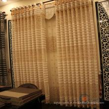 Novo design do modelo bordado rendas cortina tecido à venda