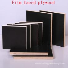 Pappel-Kern-Schwarzes Film gegenübergestelltes Sperrholz / Marine-Sperrholz / Schalungs-Sperrholz / wasserdichtes Sperrholz