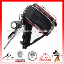 PAD plegable bolsa de manillar de bicicleta Ciclismo MTB Bike Bolsa de bicicleta Frame Front Tube Bag Accesorios de bicicleta