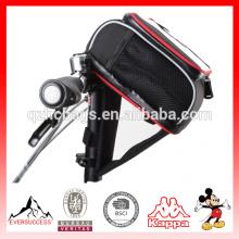 PAD bicicleta dobrável guiador saco de Ciclismo MTB Bicicleta Saco de Bicicleta Quadro Frente Tubo Saco Acessórios Para Bicicletas