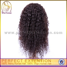 100% Unprocessed Virgin Malaysian Human Natural Kinky Curl Hair Wig