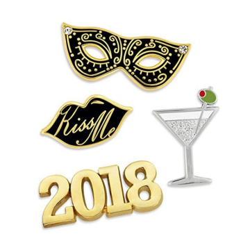 2018 New Years Eve Celebration revers pin set