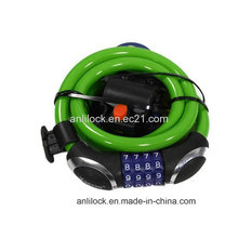 Bicycle Lock Motorcycle Lock, Bike Lock, Combination Lock (AL-08904)