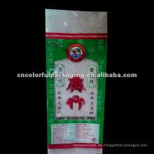 Manija bolsa de embalaje de alimentos PLÁSTICO