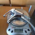 Продажи сантехника кран 40 мм цинковая ручка горячей и холодной воды латунный кран