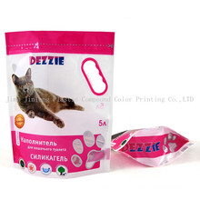 Stand up Cat Litter Packaging Bag with Handle Hole
