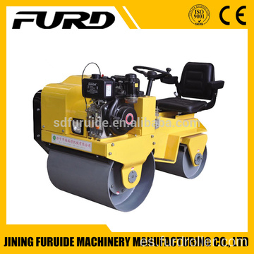 Ride-on Double Drum Baby Roller Compactor Machine (FYL-850)