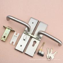 High security toilet door lock set in knob & Pin lock with higt security latch