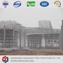 Atelier de toiture de structure de cadre en acier
