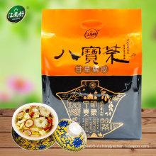 Чай китайского травяного цветка в основном содержит солодку и сушеную кожуру мандарина