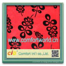 Moda nuevo diseño más reciente estilo poliester del telar jacquar del algodón tela impresa