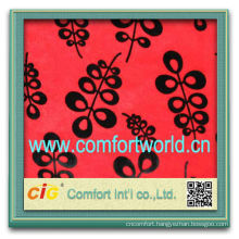 Fashion new design burn-out tricot ( velour) polyester wholesale soft indian fabric