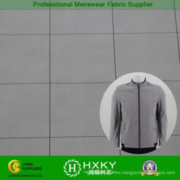 Compruebe la tela de la memoria del patrón de Mens chaqueta tejida