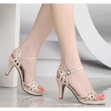 Sandales femmes blanches à talons hauts Classcial