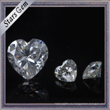 Super blanco personalizado corte y tamaño Moissanite piedra para la joyería