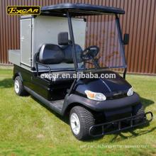 Fertigen Sie das elektrische Golfwagenwagenklumpenauto Golfwagenlebensmittelbuggyauto des Bins 2 elektrisch an