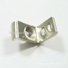 Fim terminal não padronizado do terminal de cabo do metal da soldadura M4