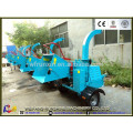 CE certificate DWC-22 diesel powered wood shredder