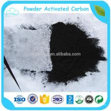 Ningxia 200 malla de alto valor de yodo carbón en polvo precio de carbón activado