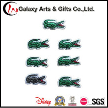 Заплаты вышитые Крокодил логотип для одежды