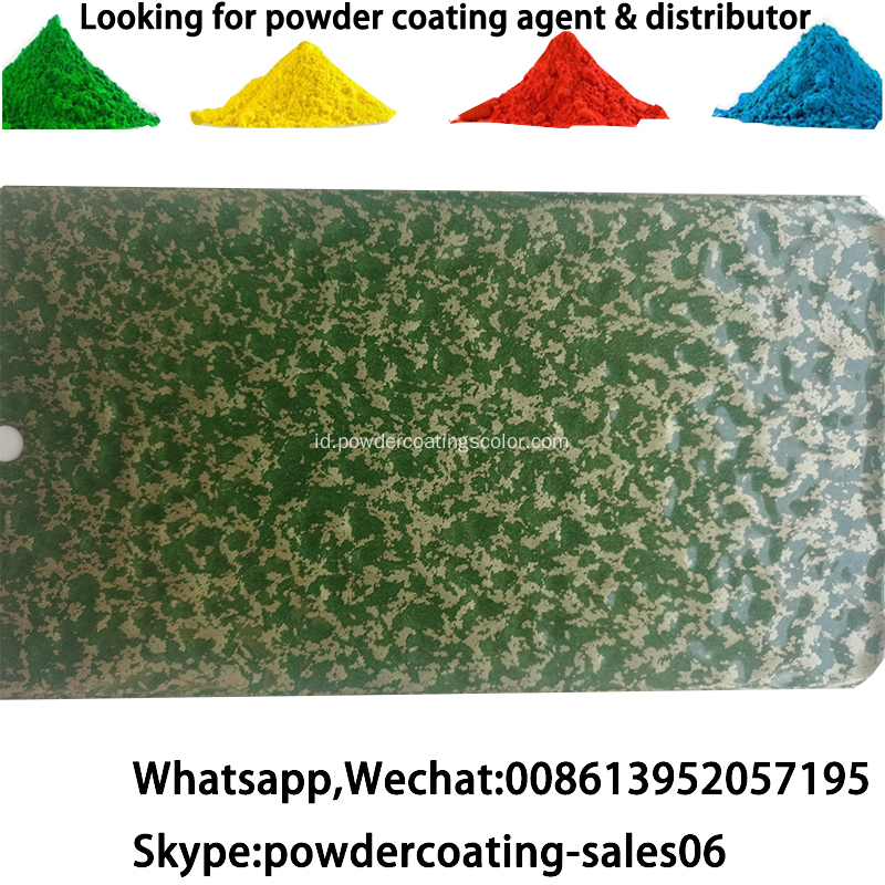 elektrostatik Anti UV powder coating powder tahan api