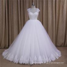 2016 mais novo requintado vestido de noiva