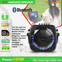 Professioneller mobiler tragbarer drahtloser Mini aktiver Lautsprecher