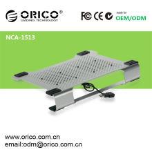 ORICO NCA-1513 Dupla ventilador de alumínio de 14 polegadas laptop arrefecimento com almofada de tratamento de superfície anodizado, ventilador removível laptop cooler pad