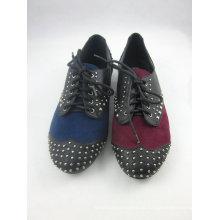 Zapatos planos del vestido de las nuevas mujeres del estilo (HCY03-136)