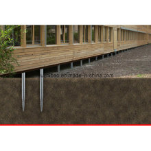 Bodenschraube für Holzbau