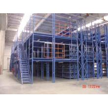 Plate-forme en acier à mezzanine solide en acier